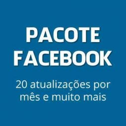 pacote facebook marketing pagina empresa fan page
