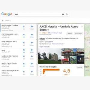 Receber depoimentos no google mapas 3