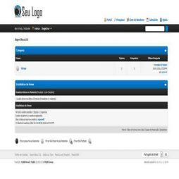 Site Pronto de Forum Template
