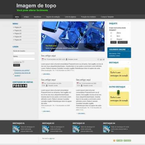 Template Site Pronto para Empresas Super Eleva 001