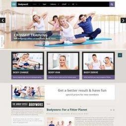 Academia Fitness Template Joomla 025