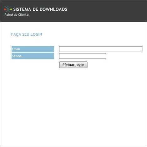 Sistema De Download Template PHP Português 208