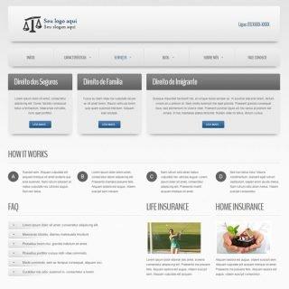 Criar Site Empresa Template Joomla Português 020 v3