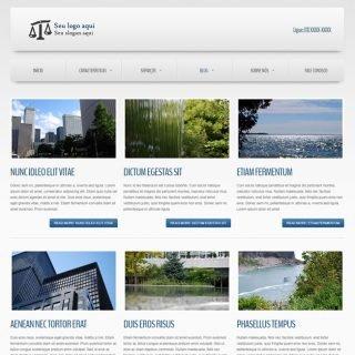 Criar Site Empresa Template Joomla Português 020 v4