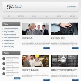 Criar Site Empresa Template Joomla Português 020 v5