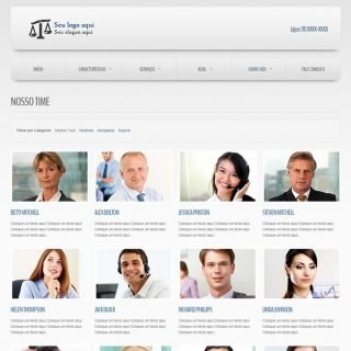 Criar Site Empresa Template Joomla Português 020 v6