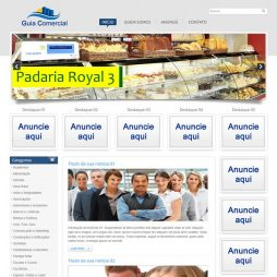 Criar Site Guia Comercial Template Joomla Português 023 V1