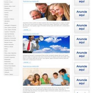 Criar Site Guia Comercial Template Joomla Português 023 V2