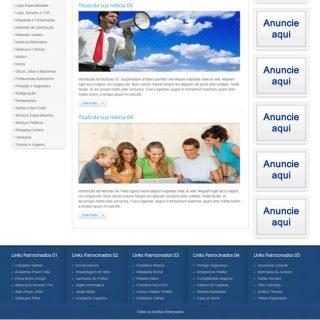 Criar Site Guia Comercial Template Joomla Português 023 V3