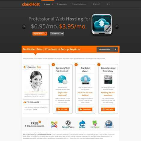 Hospedagem de Sites Template Joomla 029