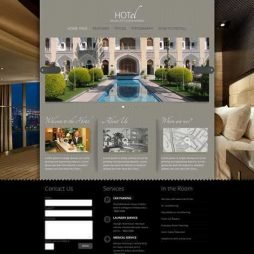 Hotel Pousada Resort Template Joomla Colorido 063