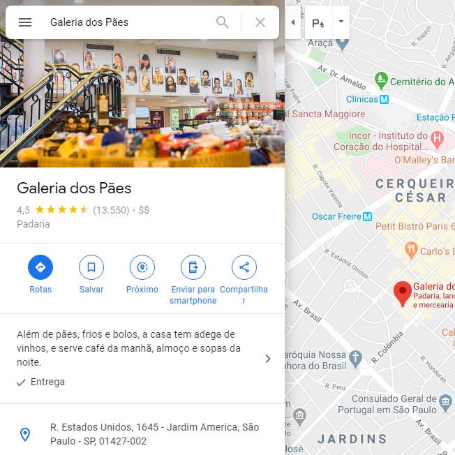 Colocar Endereço Google Maps Site