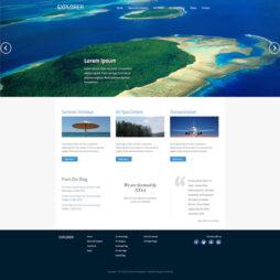 Criar Site Agência de Viagens Template Joomla 050