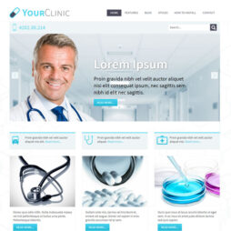 Criar Site Clínica Médica Joomla 047