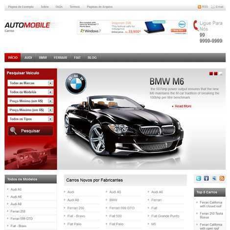 Revenda de Carros Template PHP Português 056