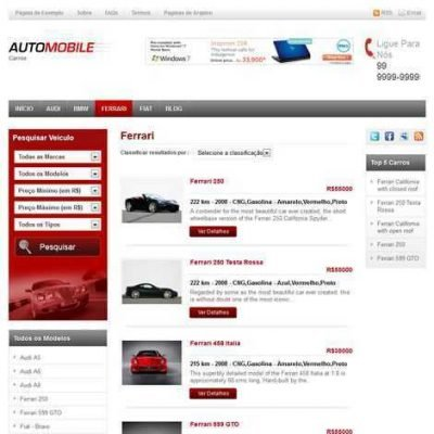 Criar Site Revenda de Carros Wordpress 056