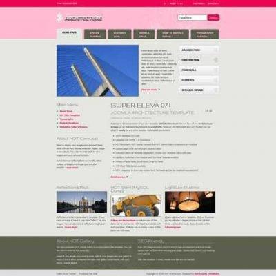 Criar Site Arquiteto Arquitetura Joomla 074