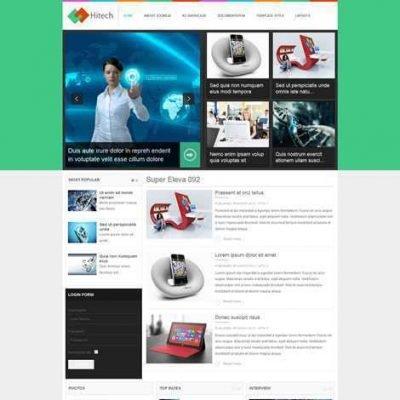 Criar Site Notícias Joomla Responsivo 092
