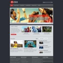 Filme Cinema Template Joomla Responsivo 098