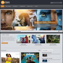 Criar Site Cinema Template Joomla 098