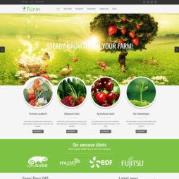 Criar Site Hortifruti Joomla Responsivo 087