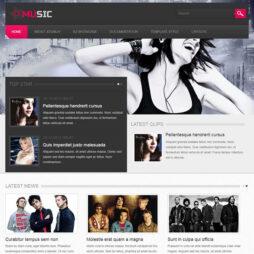 Criar Site de Música Banda Joomla 099