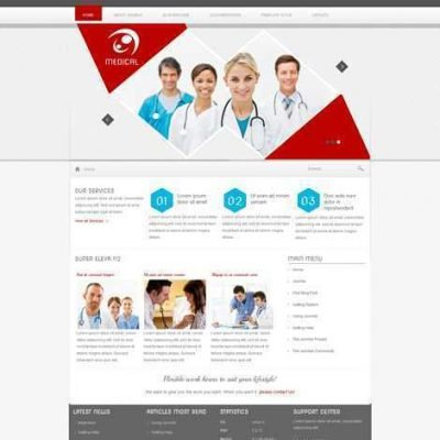 Criar Site Hospital Clinica Joomla 112