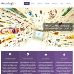 Site Empresa Template HTML Responsivo 100