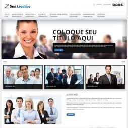 Criar Site Empresa Joomla Português 128