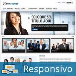 Empresa Template Joomla Responsivo Português 128