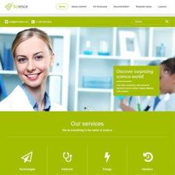 Site Pronto Para Empresa Template Joomla 132