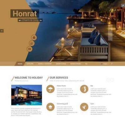 Criar Site Agência de Viagens Joomla Responsivo 135