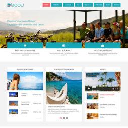 Criar Site Turismo Template Joomla Responsivo 139