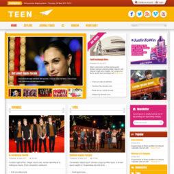 Criar Site Notícias Template Joomla