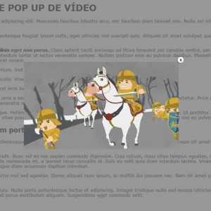 Janela Pop-up com vídeo
