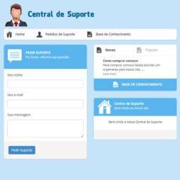 Sistema de Suporte Script PHP 147 v2