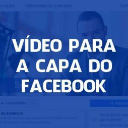 Vídeo para a capa do Facebook