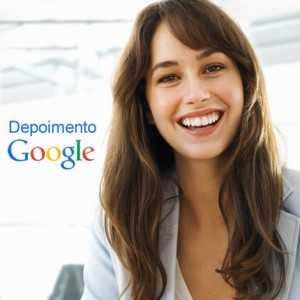 Depoimento Google