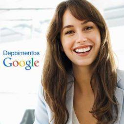 depoimentos Google