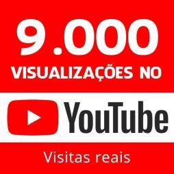 9000 vizualizações no youtube visitas reais