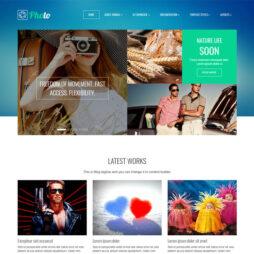 Site Para Fotógrafo Template Joomla 151