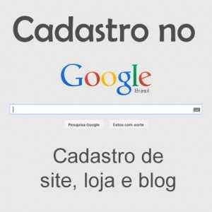 cadastro no google