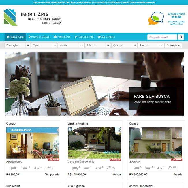 Imobiliaria Sistema em PHP Responsivo Português 259 v1