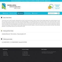 Imobiliaria Sistema em PHP Responsivo Português 259 v4