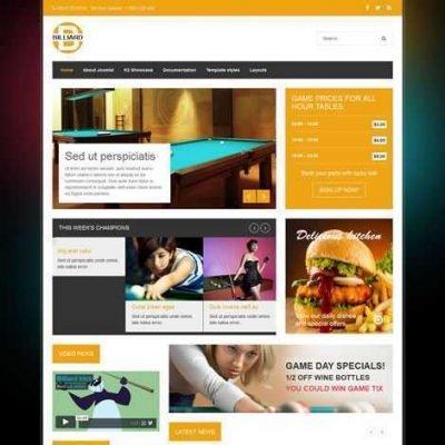 Criar Site Bar Boteco Joomla 156