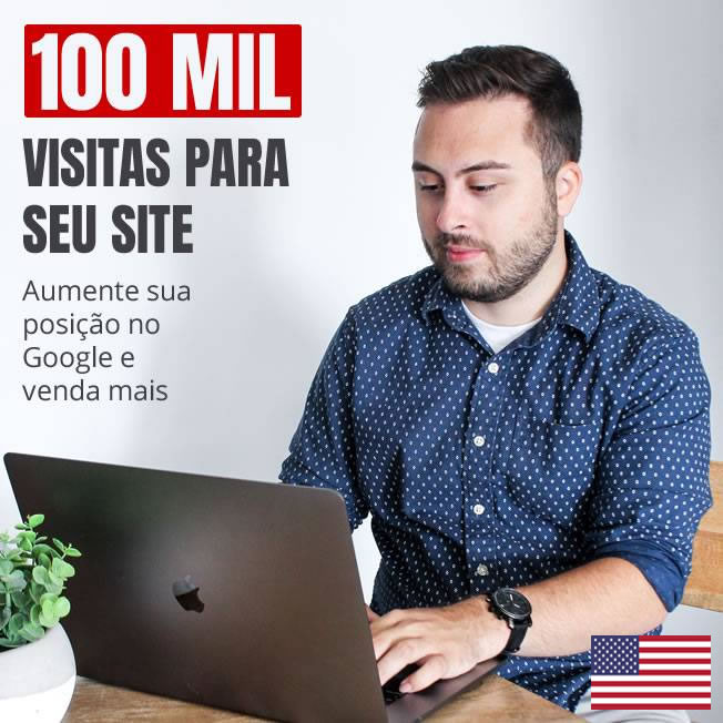 100 Mil Visitas Tráfego Reais Site Blog Loja Virtual v3