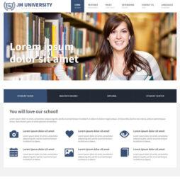 Criar Site Escola Template Joomla 159