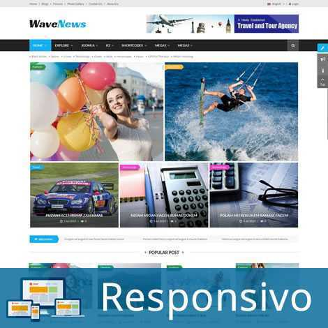 Template noticias responsivo super eleva 161