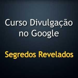 curso divulgação no Google