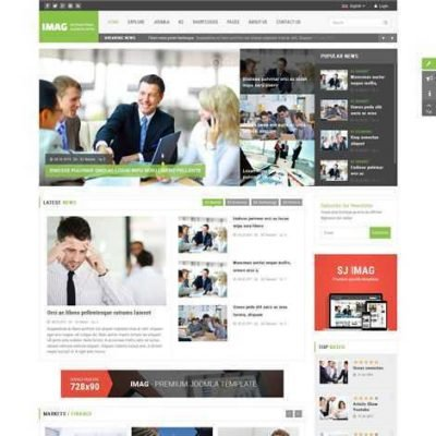 Criar Site Notícias Joomla Responsivo 163